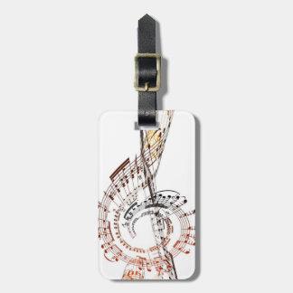 Beethoven Luggage Tag