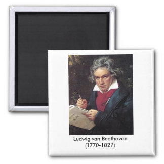 Beethoven Magnet for the Music Lover