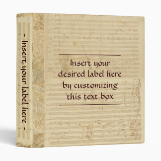 Beethoven Manuscript Binder