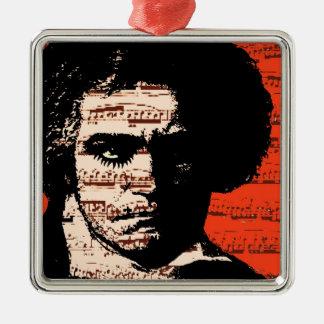 Beethoven Metal Ornament