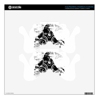 Beethoven Motorcycle T-Shirt Decal For PS3 Controller