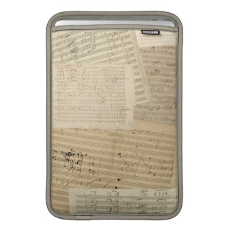 Beethoven Music Manuscripts MacBook Air Sleeve