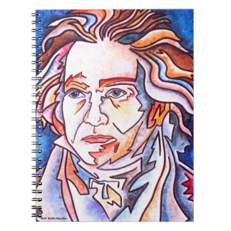 Beethoven notenook spiral notebook