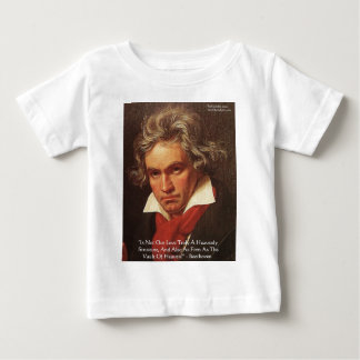 "Beethoven ""Of Heaven"" Love Quote Gifts & Tees"