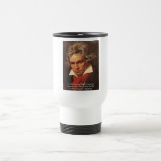 """Beethoven """"Of Heaven"""" Love Quote Gifts & Tees Coffee Mugs"""
