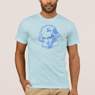 Beethoven on Blue shirt