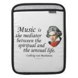 Beethoven on Music Sleeves For iPads