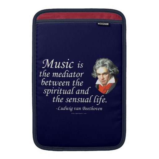Beethoven on Music Sleeves For MacBook Air