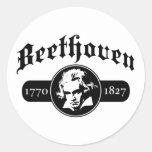 Beethoven Pegatinas