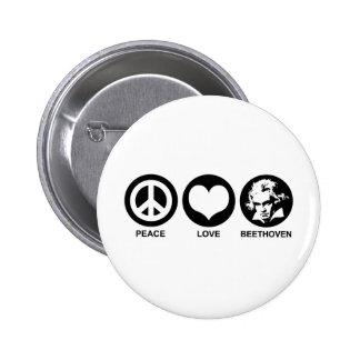 Beethoven Pinback Button