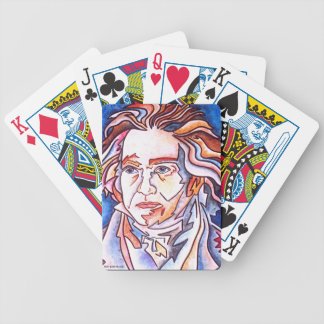 Beethoven playing cards