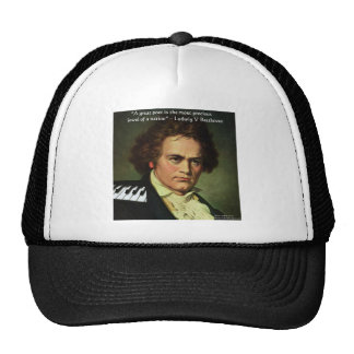 Beethoven & Poets/Gems Quote Gifts Tees & Cards Trucker Hat