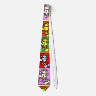 Beethoven Pop Art Neck Tie
