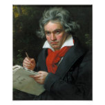 Beethoven portátil poster
