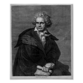 Beethoven Portrait Poster