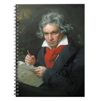 Beethoven Portrait Vintage Notebook