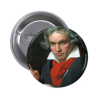 Beethoven Product Fine Art Classical Collection Pinback Button