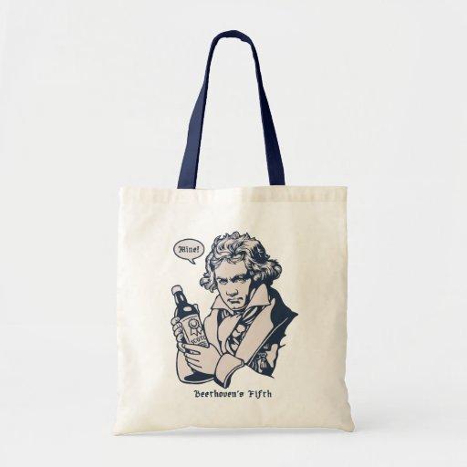 Beethoven quinto bolsa de mano