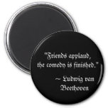 Beethoven Quote Magnet
