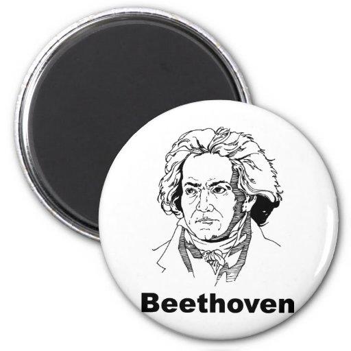 Beethoven Refrigerator Magnet