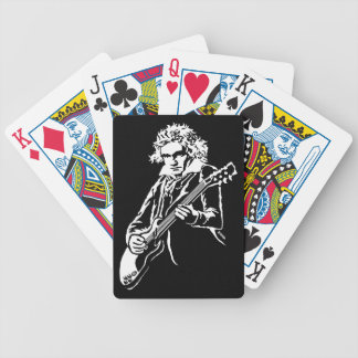 Beethoven Rock! Bicycle Playing Cards