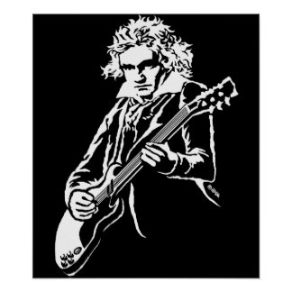 Beethoven Rock! Poster