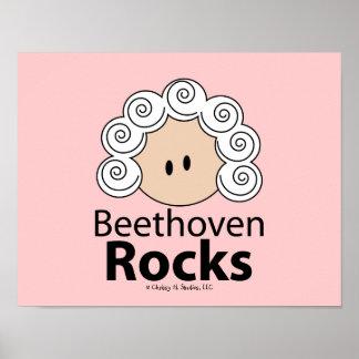Beethoven Rocks Beethoven Poster