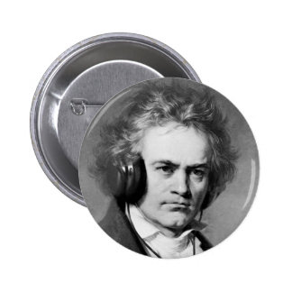 Beethoven Rocks Button
