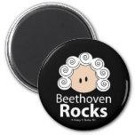 Beethoven Rocks Magnet