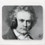 Beethoven Rocks Mousepad