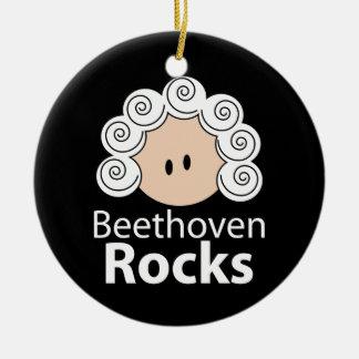 Beethoven Rocks Ornament