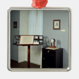 Beethoven Room displaying a music stand Metal Ornament