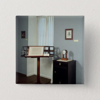 Beethoven Room displaying a music stand Pinback Button