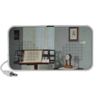 Beethoven Room displaying a music stand Notebook Speakers