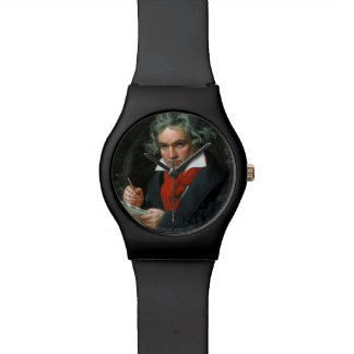 Beethoven rubber watch! wrist watch