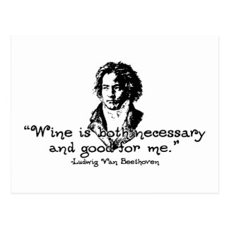Beethoven -S Post Card