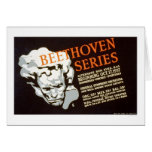 Beethoven Series 1937 WPA Card