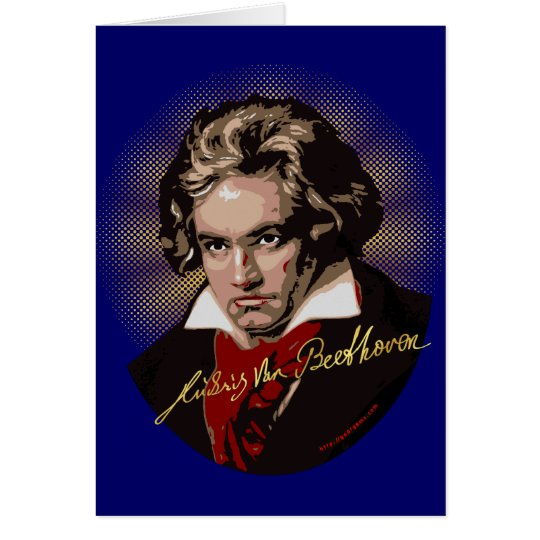 Beethoven Signature Card