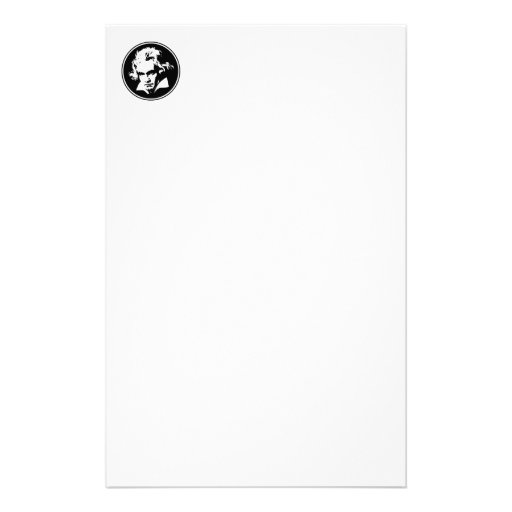 Beethoven Stationery Paper