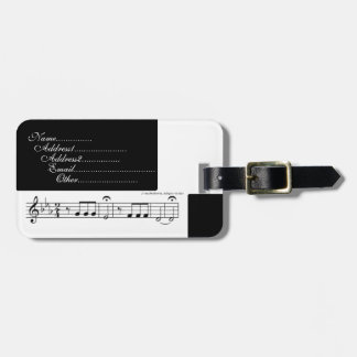 Beethoven Symphony No. 5 Bag Tag