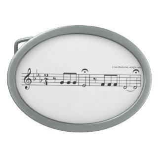 Beethoven Symphony No. 5 Belt Buckle