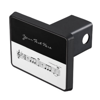 Beethoven Symphony No. 5 (Black) Hitch Cover