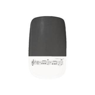 Beethoven Symphony No. 5 (Black) Minx Nail Wraps