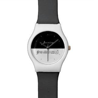 Beethoven Symphony No. 5 (Black) Wrist Watch