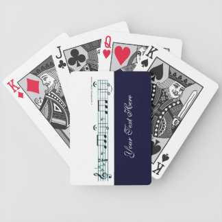 Beethoven Symphony No. 5 (Blue) Bicycle Playing Cards