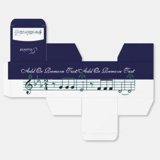 Beethoven Symphony No. 5 (Blue) Favor Box