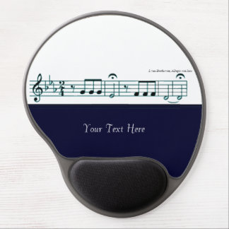 Beethoven Symphony No. 5 (Blue) Gel Mouse Pad