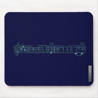 Beethoven Symphony No. 5(Blue) Mouse Pad