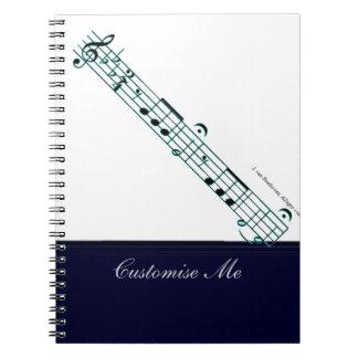 Beethoven Symphony No. 5 (Blue) Notebook