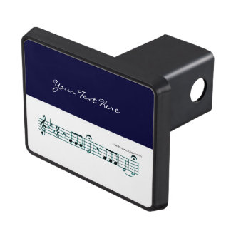 Beethoven Symphony No. 5 (Blue) Trailer Hitch Cover